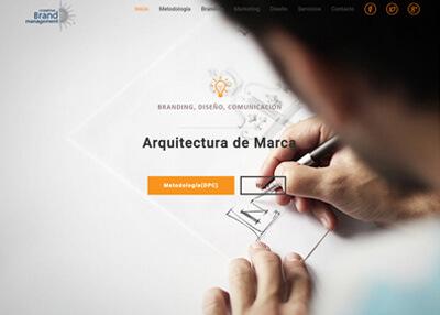 imagen de página web de Brandingmx