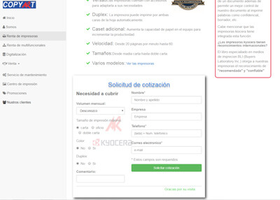 imagen de página web de Copyart Amistad Ravol